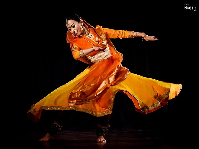 北インド古典舞踊カタックダンス