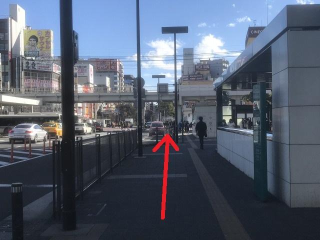 かわさきスカイビル,川崎 ダンススタジオ, 場所