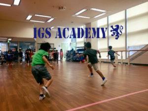 IGS ACADEMYの英語体育体験会