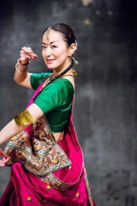 北インド古典舞踊 カタックダンス教室 講師 堤菜穂